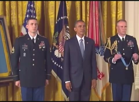 News video: New Hampshire Man Awarded Medal of Honor at White House