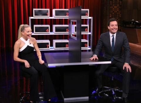 News video: Jimmy Fallon Challenges Kate Hudson To The Ultimate Lying