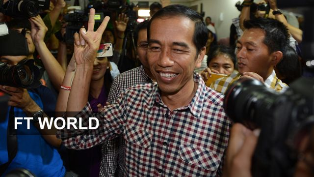 News video: Joko Widodo elected Indonesia president