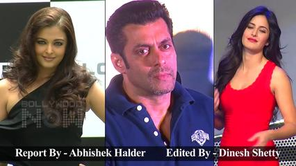 News video: Salman Khan With Ex Girlfriends Aishwarya Rai And Katrina Kaif At An Event Together