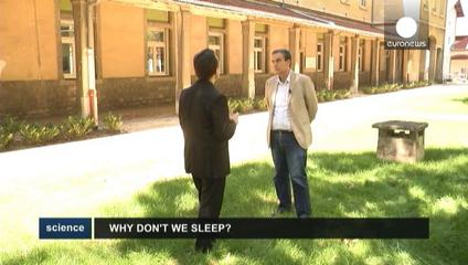 News video: Sleep problems a growing health hazard